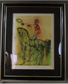 S. Dali. Jeździec rzymski....