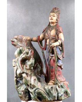 Bodhisattwa. Rzeźba...